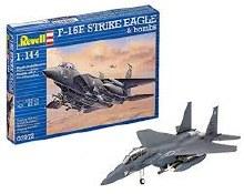 1:144 Scale F-15E Strike Eagle & Bombs - 03972
