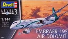 1:144 Scale Embraer 195 Air Dolomiti - 04884