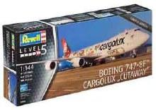 """1:144 Scale Boeing 747-8F Cargolux """"Cutaway"""" - 04949"""