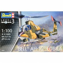 1:100 Scale Bell AH-1G Cobra Helicopter - 04954