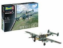 1:32 Scale Messerschmitt Bf110 C-7 - 04961