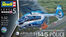 1:32 Scale H145 Police Surveilance Helicopter - 04980
