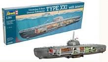 1:144 Scale U-Boat Type XXI - 05078
