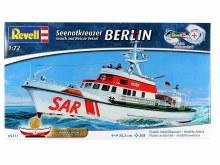 1:72 Scale Seenotkreuzer Search and Rescue Vessel Berlin - 05211