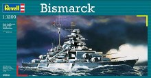 1:1200 Scale Bismarck - 05802