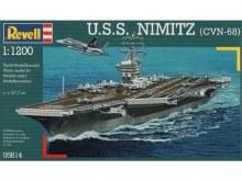 1:1200 Scale USS Nimitz (CVN-68) - 05814