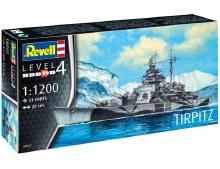 1:1200 Scale Tirpitz - 05822
