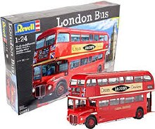 1:24 Scale London Bus - 07651