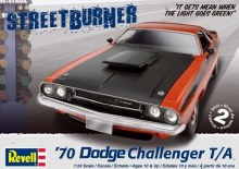 1:24 Scale 1970 Dodge Challenger 2'n1 - 12596