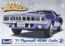 1:24 Scale '71 Hemi Cuda Hardtop - 12943