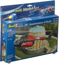 """1:32 Scale BO105 """"35th Anniversary of Roth"""" Set - 64906"""