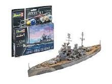 1:1200 Scale HMS King George V Set- 65161