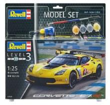 1:25 Scale Corvette C7R Set - 67036