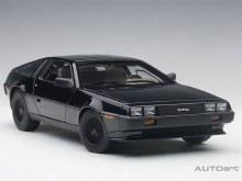 1:18 Scale DeLorean DMC 12 Metallic Black - A79917
