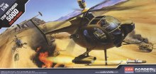 1:48 Scale Hughes 500D TOW Helicopter - ACA-12250