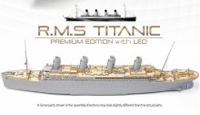 1:400 Scale R.M.S Titanic Premium Edition with LED - ACA-14226