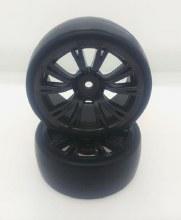 1:10 10 Spoke Gun Metal Drift Wheel