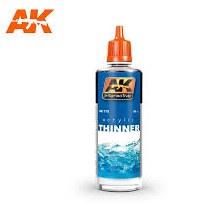 Acrylic Thinner 60ml - AK712