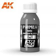 Grey Primer & Microfiller 100ml - AK758