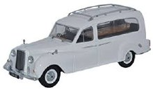 1:43 Scale Austin Princess Hearse White - APH002