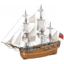 1:60 Scale HMS Endeavour 1768 - 22516