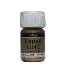 Liquid Gold Red Gold Metallic 35ml - AV70794