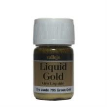 Liquid Gold Golden Green Metallic 35ml - AV70795