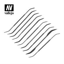 Set of 10 Curved Files - AVT03003