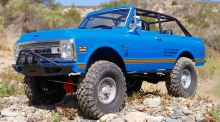 SCX10 II 1969 Chevrolet Blazer 4WD Crawler - AXID9058
