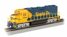 HO Gauge Santa Fe #2964 GP40 Loco - 63526