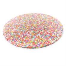 "Bake Group Cake Board Sprinkles - 12"" Round"