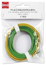 Conductor Cable Green, Red, Yellow 0.14mm x 5m - 1782