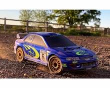 1:24 GT24 Subaru WRC Micro Brushless Rally Car - CRS80068
