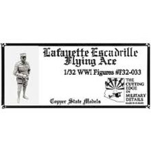 1:32 Scale Lafayette Escadrille Flying Ace - F32-033