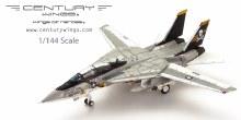 1:144 Scale F-14A Tomcat U.S. Navy VF-84 Jolly Rogers AJ203 1978 - CW001628