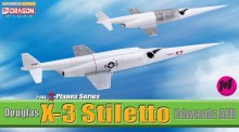 1:144 Scale Douglas X-3 Stiletto, Edwards AFB - DB51028