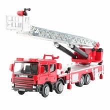 1:50 Scale Ladder Fire Engine - KDW625012