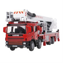 1:50 Scale Aerial Fire Truck - KDW625014