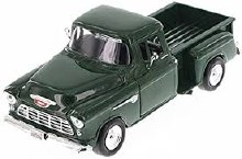 1:24 Scale 1955 Chevy Stepside, Green - 73236