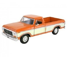 1:24 Scale Ford F-150 Custom, Orange - 793460