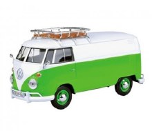 1:24 Scale VW Type 2 (T1), White/Green - MM78551WG