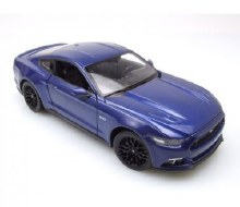 1:24 Scale 2015 Ford Mustang G, Blue - ML24062W