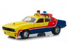 1:18 Scale Yellow Police MFP Ford XB Falcon 1st Of The Interceptors Mad Max - DDA012