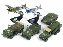 1:64 Scale Greatest Generation Military 2018 Release 3 Set A - JLML003A