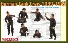 1:35 Scale Panzer IV Crew - 6375