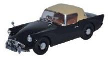 1:43 Scale Daimler SP250 [Hood] Metropolitan Police Black - DSP001