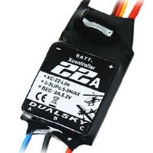 XC-22-LITE Brushless Speed Controller 22A 2-3S DSXC22LITE