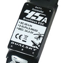 XC-45-LITE Brushless Speed Control 45A 2-3S - DSXC45LITE