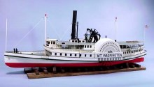 "River Boat Mount Washington 44"" Wooden Kit - 1235"