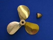 "Brass Propeller 3 Blade RH 3"" Dia. - 3108"